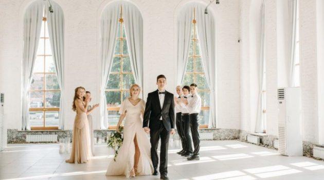 Свадьба в стиле минимализм