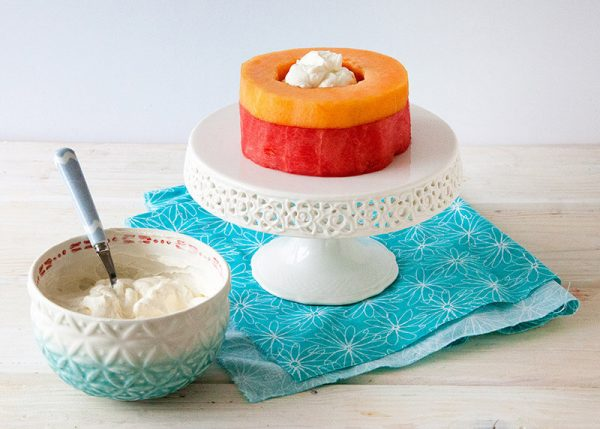 Торт из арбуза и дыни