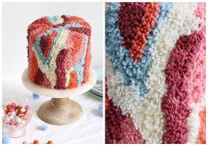 Как украсить торт кремом